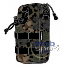 COMMS POUCH ANIMAL CAMO/BLK