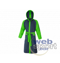 BATHROBE MICROTERRY BICOLOR ADULTS(UK)