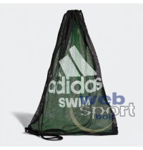 SWIM MESH BAG       BLACK/FLAGRN/WHITE