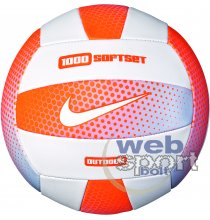 NIKE 1000 SOFTSET OUTDOOR VOLLEYBALL 18P CONE/WHITE/CONE/WHITE 05