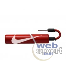 NIKE ESSENTIAL BALL PUMP INTL UNIVERSITY RED/WHITE/WHITE