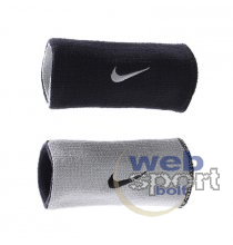 Védőeszközök NIKE DRI-FIT HOME & AWAY DOUBLEWIDE WRISTBANDS