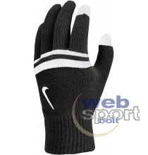 NIKE STRIPE KNITTED TECH AND GRIP GLOVES